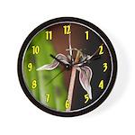 Fetid Adders Tongue Flower Wall Clock