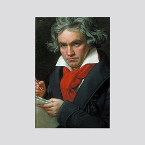 Beethoven Rectangle Magnet