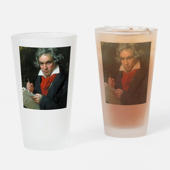 Beethoven Drinking Glass