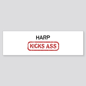 HARP kicks ass Bumper Sticker