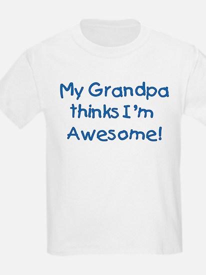mygrandpathinksimawesomeblue T-Shirt