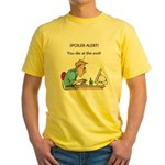 The Angriest Programmer Yellow T-Shirt