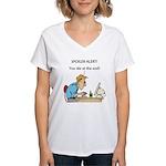 The Angriest Programmer Women's V-Neck T-Shirt