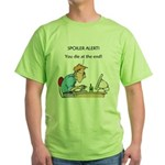 The Angriest Programmer Green T-Shirt