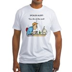 The Angriest Programmer Fitted T-Shirt