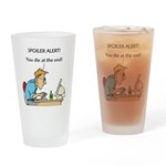 The Angriest Programmer Drinking Glass