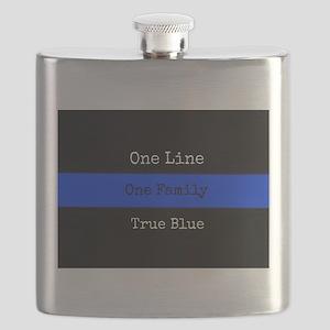 True Blue Flask