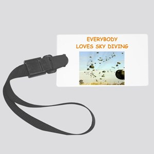 sky diving Luggage Tag