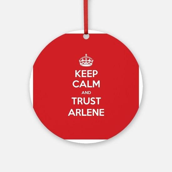 Trust Arlene Ornament (Round)