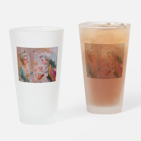 Colonial Love 4 Drinking Glass