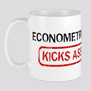 ECONOMETRICS kicks ass Mug