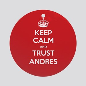 Trust Andres Ornament (Round)