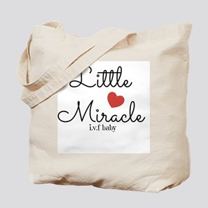 Little Miracle IVF Baby Tote Bag