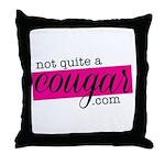 logo WHITE Throw Pillow