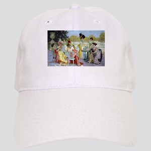 Regency Ladies Tea Party Baseball Cap