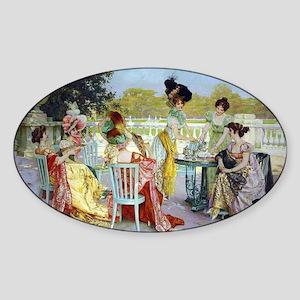Regency Ladies Tea Party Sticker