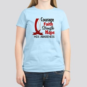 MDS Courage Faith 1 Women's Light T-Shirt