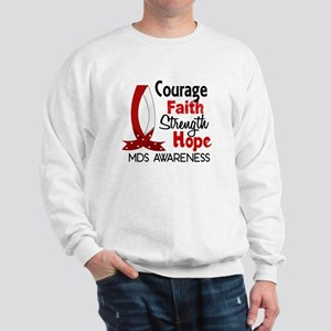 MDS Courage Faith 1 Sweatshirt