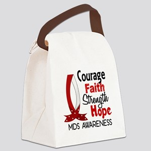MDS Courage Faith 1 Canvas Lunch Bag