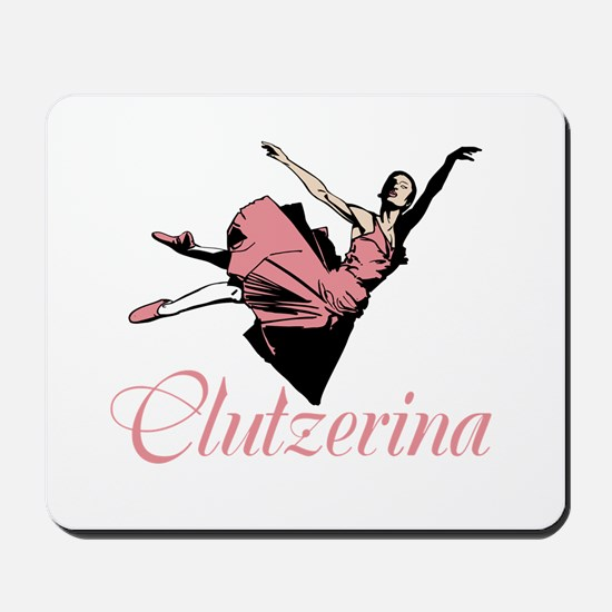 Clutzerina the Graceful Mousepad