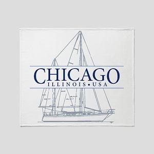Chicago - Throw Blanket
