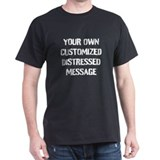 Custom Mens Classic Dark T-Shirts