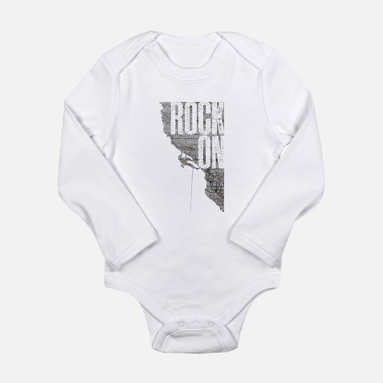 Rock On - Rock Climbing Graphic Tee Body Suit