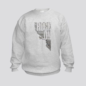 Rock On - Rock Climbing Graphic Tee Sweatshirt