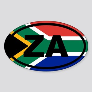 South Africa ZA flag Sticker