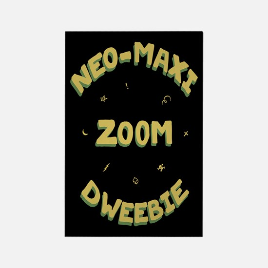 neo-maxi zoom Rectangle Magnet
