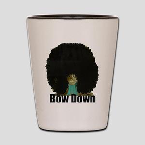 Bow Down Shot Glass