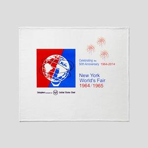 50th Anniversary Fireworks Throw Blanket