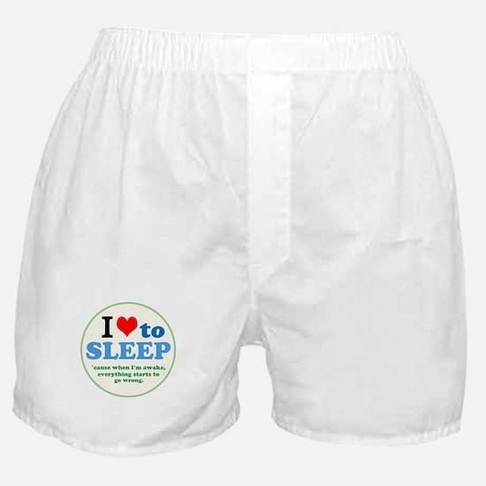 I Heart to Sleep Boxer Shorts