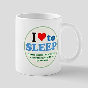I Heart to Sleep Mugs