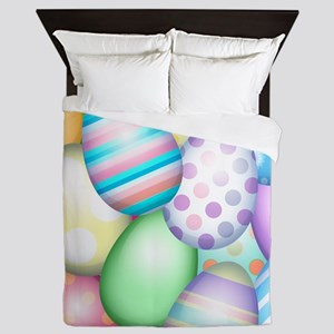 Decorated Eggs Queen Duvet