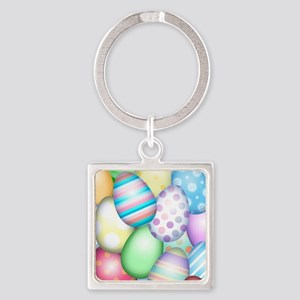 Decorated Eggs Keychains