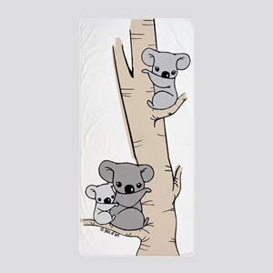 Koala Bears Beach Towel