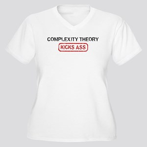 COMPLEXITY THEORY kicks ass Women's Plus Size V-Ne