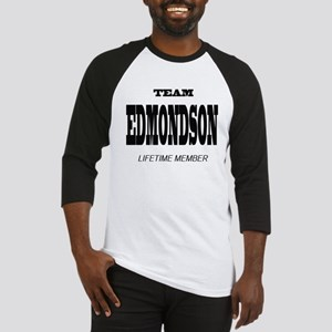 Team Edmondson Lifetime Member Baseball Jersey