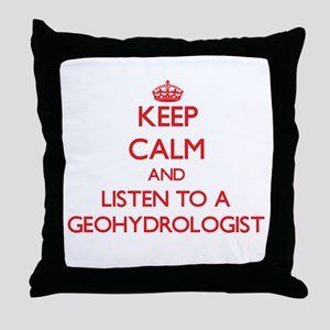 Keep Calm and Listen to a Geohydrologist Throw Pil