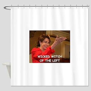 anti pelosi Shower Curtain