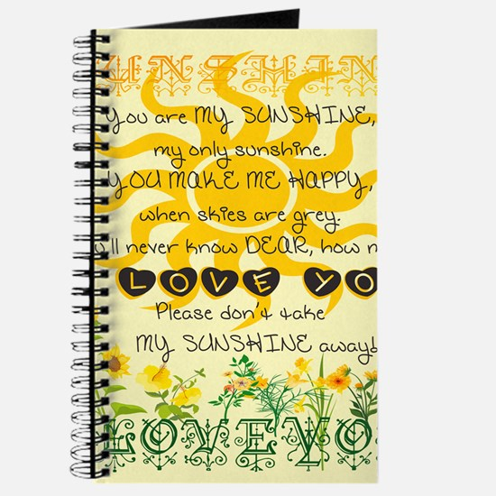 You are my sunshine! Journal