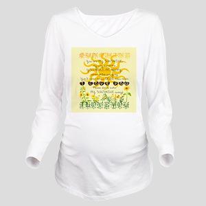You are my sunshine! Long Sleeve Maternity T-Shirt