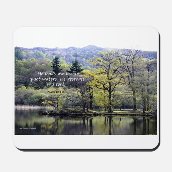 Psalm 23:2 Mousepad