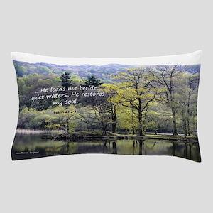 Psalm 23:2 Pillow Case