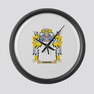 Bricknell Coat of Arms - Family C Large Wall Clock