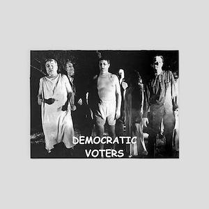 democrats 5'x7'Area Rug