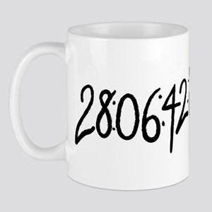 28:06:41:12 donnie darko numbers Mug