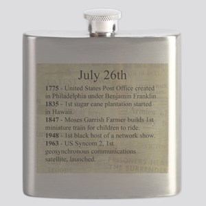 July 26th Flask