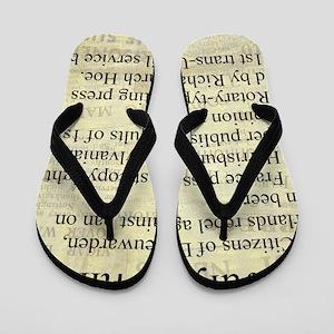 July 24th Flip Flops